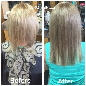 Hair extensions srq hair before and after of my clients first time getting extensions she has very thin hair almost translucent in areas a total of 70 she by socap usa individual pmusecretfo Gallery